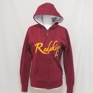 NFL Apparel Redskins zip up hoodie